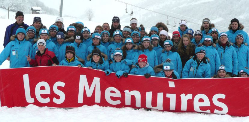 La section ski nordique du Club des Sports Les Menuires