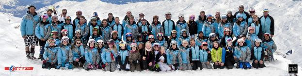 La section ski alpin du Club des Sports Les Menuires